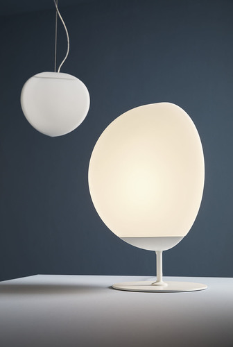 Fabbian Fruitfull F51 14W 22cm 2700K table lamp - White - F51 B02 01