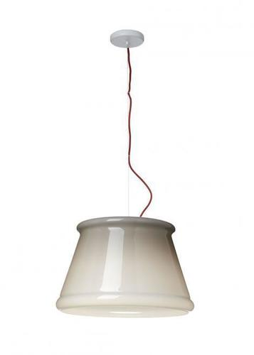 Hanging lamp Fabbian Ivette F53 22W - Gray and white - F53 A01 58