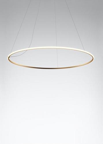 Hanging lamp Fabbian Olympic F45 98W 138.7cm 2700K - Bronze - F45 A06 76