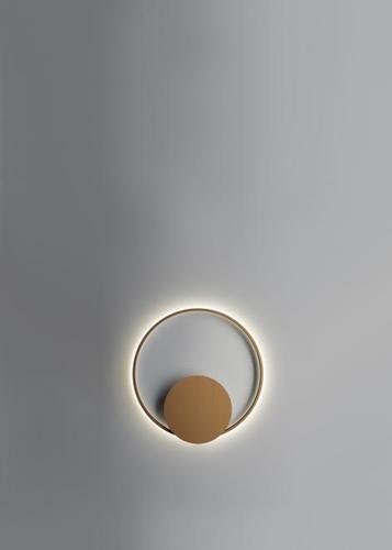 Wall lamp Fabbian Olympic F45 45W 60.2cm 2700K - Bronze - F45 G02 76