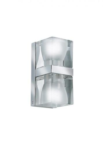Wall lamp Fabbian Cubetto D28 7W Chrome - Transparent - D28 D01 00