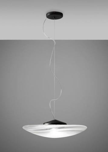 Hanging lamp Fabbian Loop F35 7W Black headliner - F35 A03 00