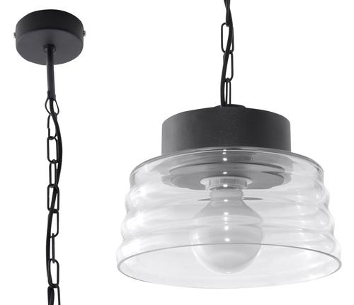 Transparentna Lampa Wisząca MARINA Transparentny