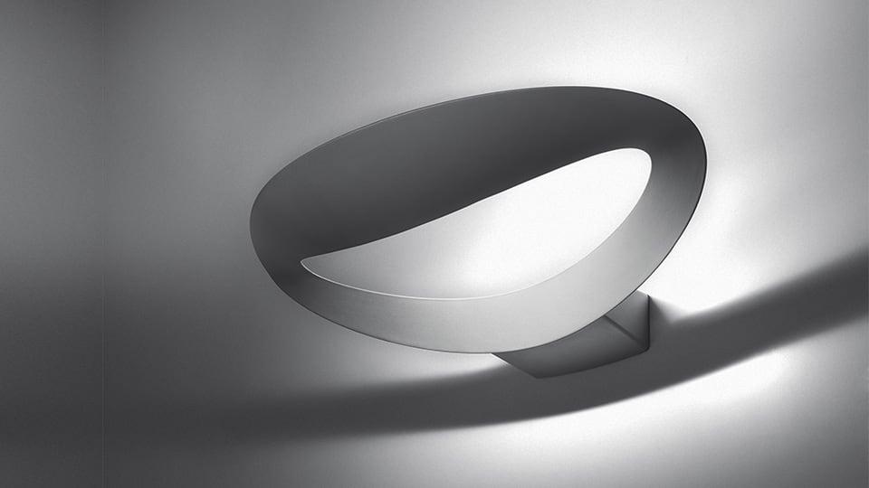 Artemide Mesmeri wall lamp (Silver)
