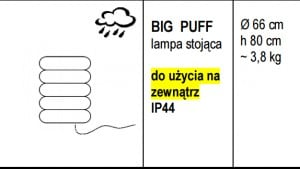 BIG PUFF standing lamp small 1
