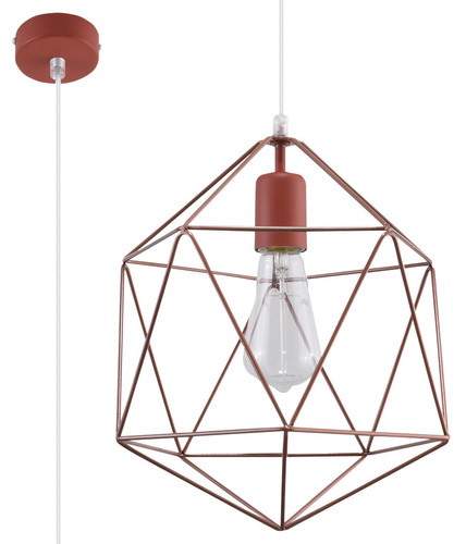 Copper GASPARE Copper Pendant Lamp