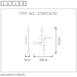Lucide LESTER 21118/04/30 small 1