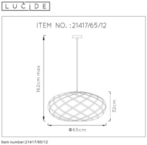 Lucide WOLFRAM 21417/65/12 small 1