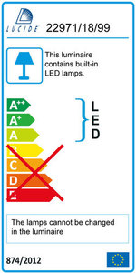 Lucide INKY LED 22972/18/99 small 1
