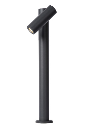 Garden bollard with regulation Lucide TATUM 27895/05/29