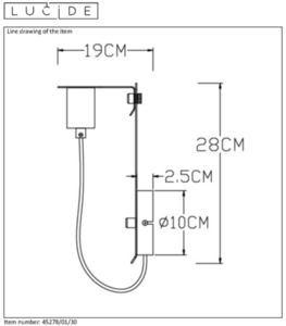 Lucide MALCOLM 45278/01/30 small 1