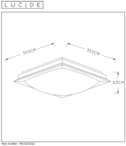Lucide GENTLY-LED 79172/13/12 small 1