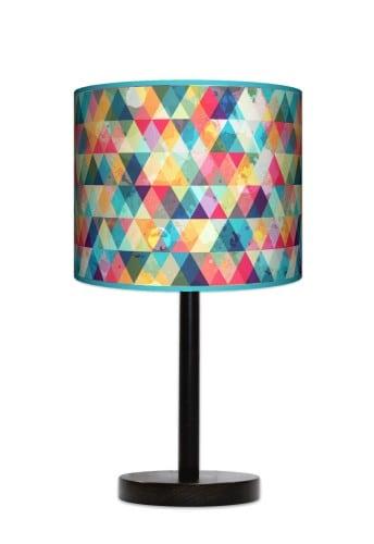Lampa stojąca duża - Kolorowa