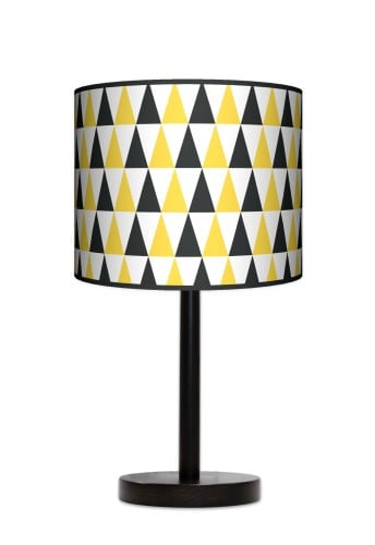 Standing Lamp Big  -  Black & yellow