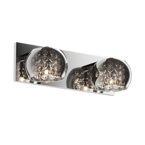Zuma Line W0076-02A-B5FZ CRYSTAL WALL LAMP