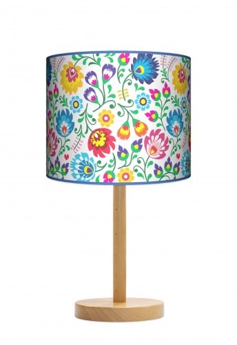 Lampa stojąca duża - Folk