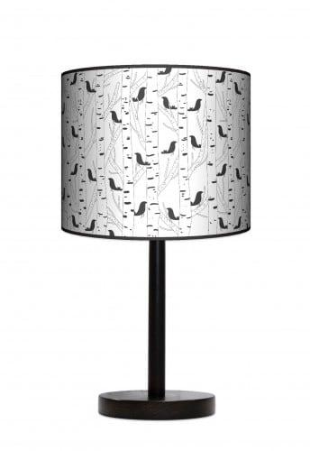 Lampa stojąca duża - Ptaki
