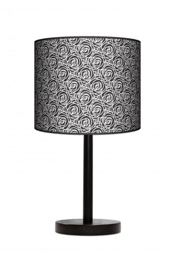 Lampa stojąca duża - Black roses