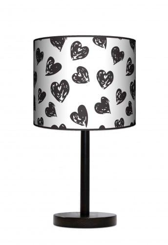 Lampa stojąca duża - Serca