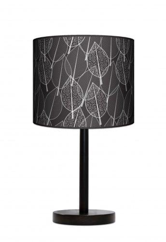 Lampa stojąca duża - Czarny las
