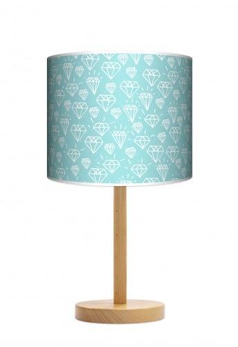 Lampa stojąca duża - Diamenty