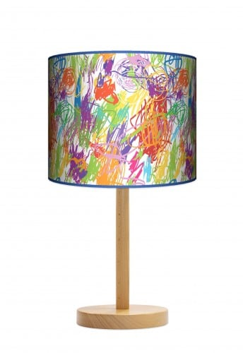 Standing Lamp Big  -  Colourful pencils