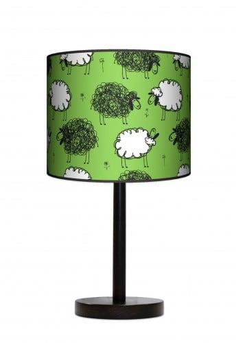 Lampa stojąca duża - Czarna owca