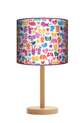 Lampa stojąca duża - Zwierzaki