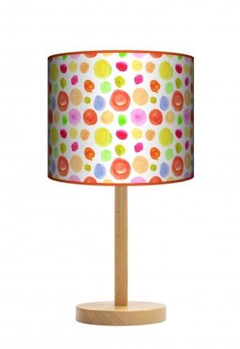 Lampa stojąca duża - Plamki