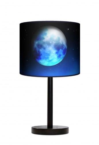 Lampa stojąca duża - Blue moon