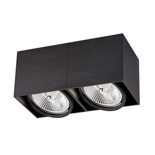 ACGU10-117 BOX2 PLAFON BLACK / BLACK