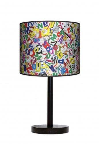 Lampa stojąca duża - Litery