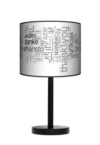 Lampa stojąca duża - Words