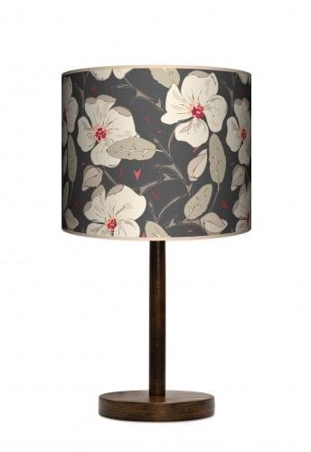 Lampa stojąca duża - Kwiaty