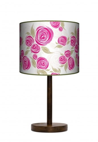 Standing Lamp Big  -  Pink rose