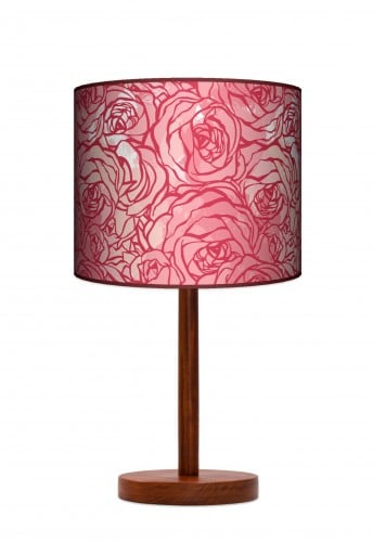 Standing Lamp Big  -  Red red rose