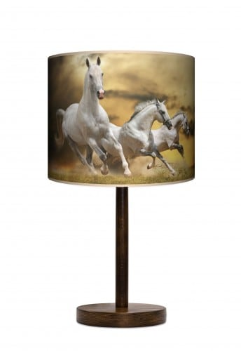 Lampa stojąca duża - Horses