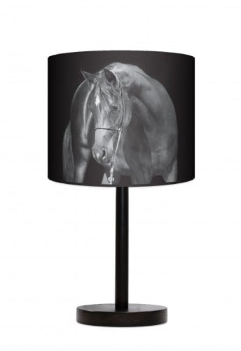 Lampa stojąca duża - Black horse