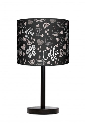 Standing Lamp Big  -  Coffee time black