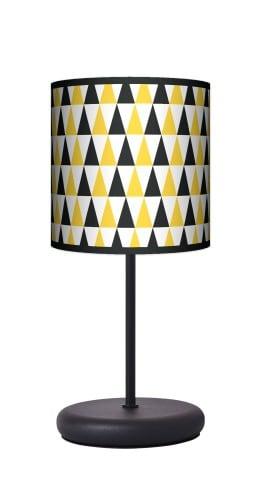 Lampa stojąca EKO - Black & yellow