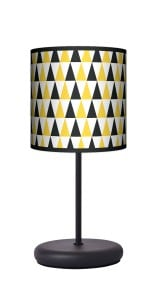 Lampa stojąca EKO - Black & yellow