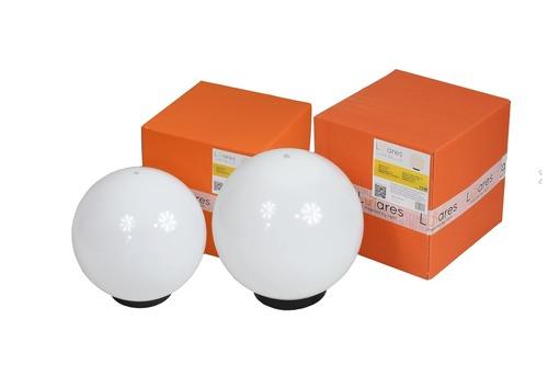 Set of 2 outdoor garden balls - Luna Balls 25, 30cm