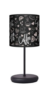 Lampa stojąca EKO - Coffee time black