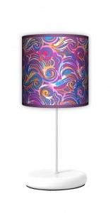 Lampa stojąca EKO - Kolorowe fale