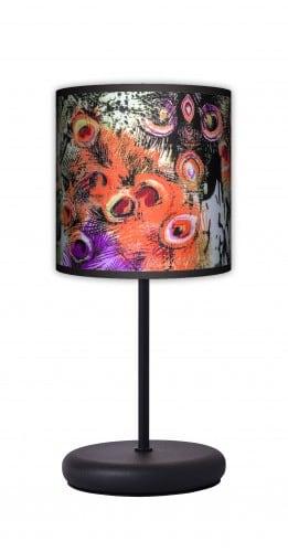 Lampa stojąca EKO - Pawie pióra