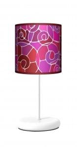 Lampa stojąca EKO - Witraż white