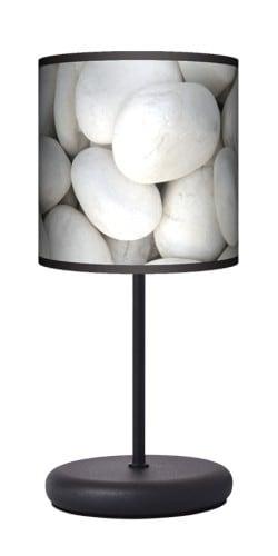 Lampa stojąca EKO - Biały kamień