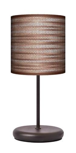 Lampa stojąca EKO - Rattan brąz