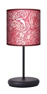 Lampa stojąca EKO - Red rose