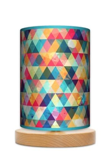 Lampa stojąca mała - Kolorowa